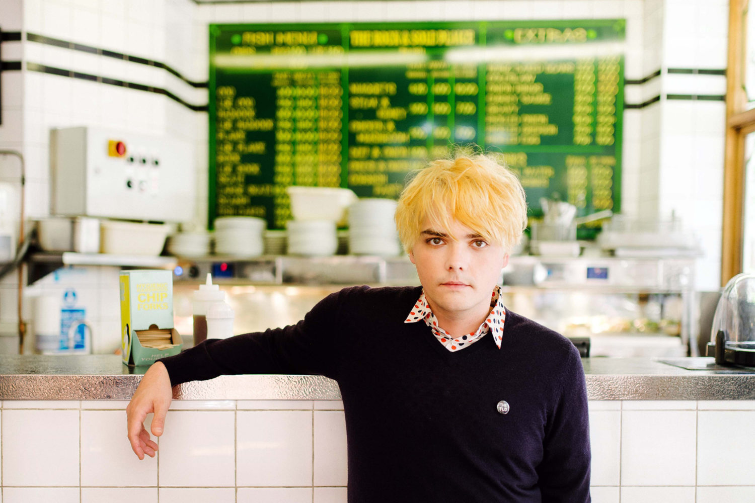 Gerard Way covers The Turtles' classic 'Happy Together'
