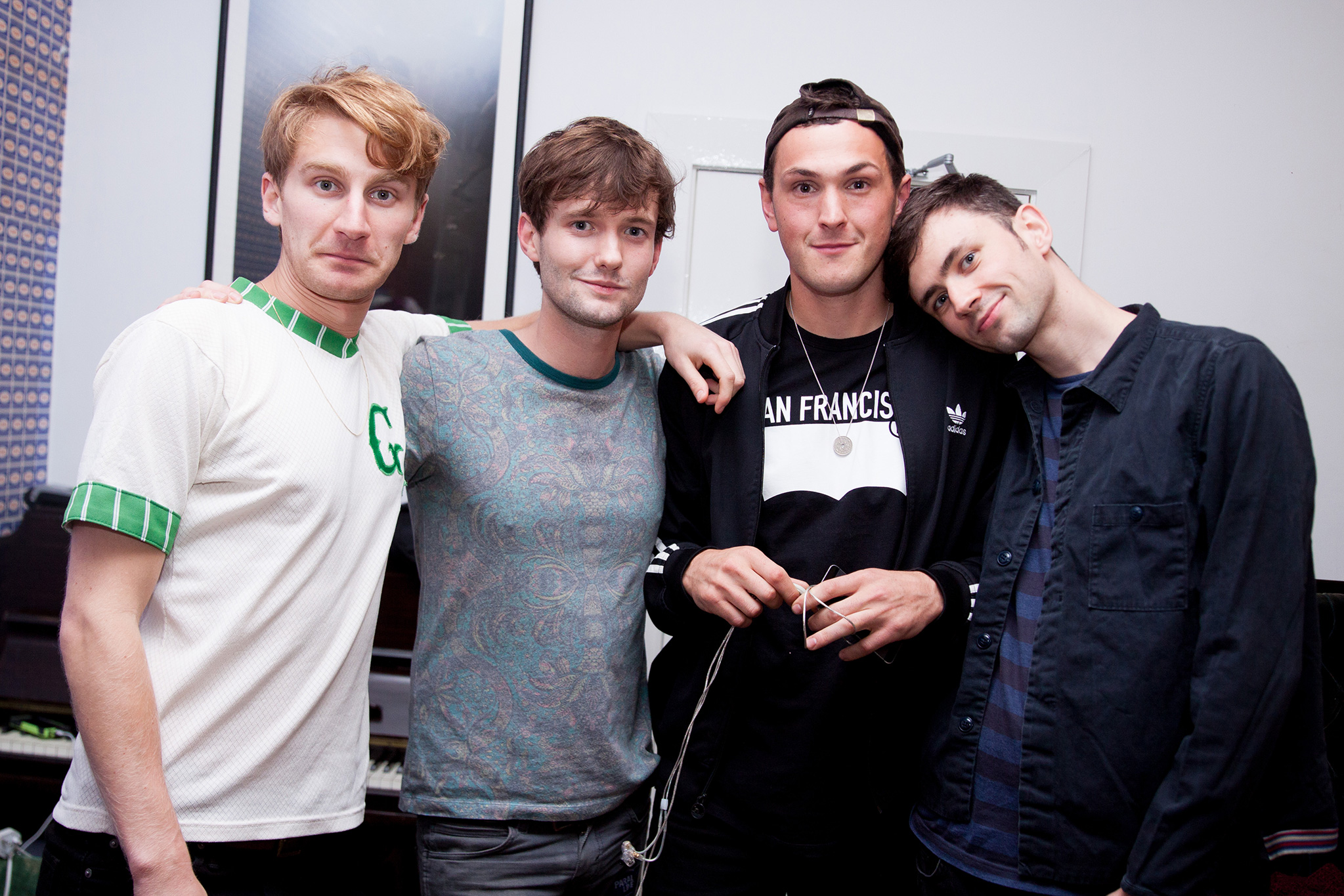 Palm trees, naked fans and sold out shows: Glass Animals' peanut butter tribe