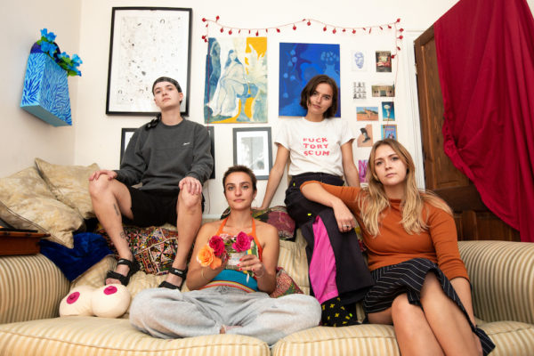 Goat Girl announce new live dates, share new track 'Badibaba'