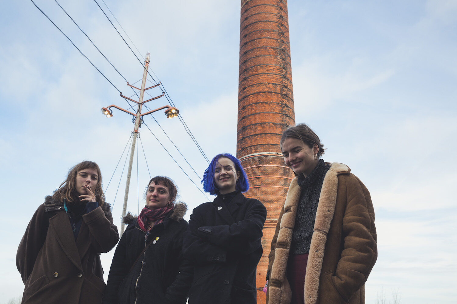 Goat Girl spread their wings in new 'Crow Cries' video