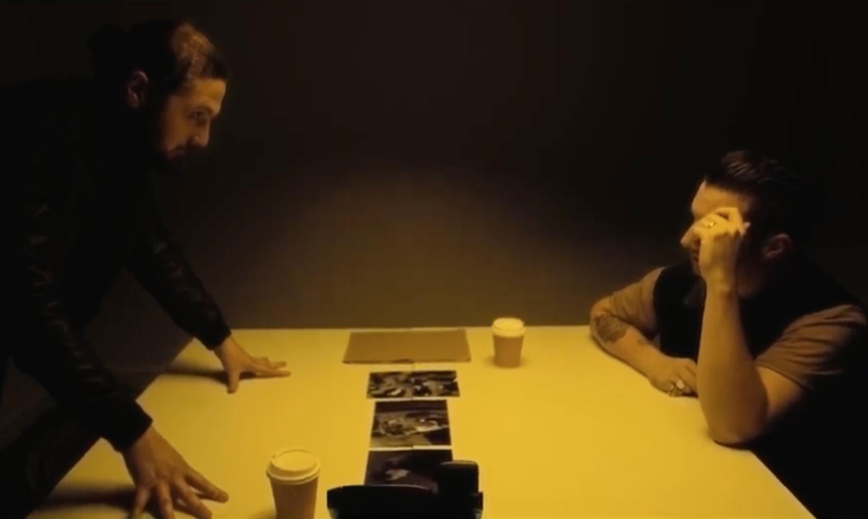 Matt Helders and Joe Carnall's Good Cop Bad Cop share murder mystery 'Silk & Leather' video