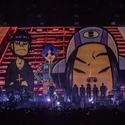 Gorillaz, O2 Arena, London