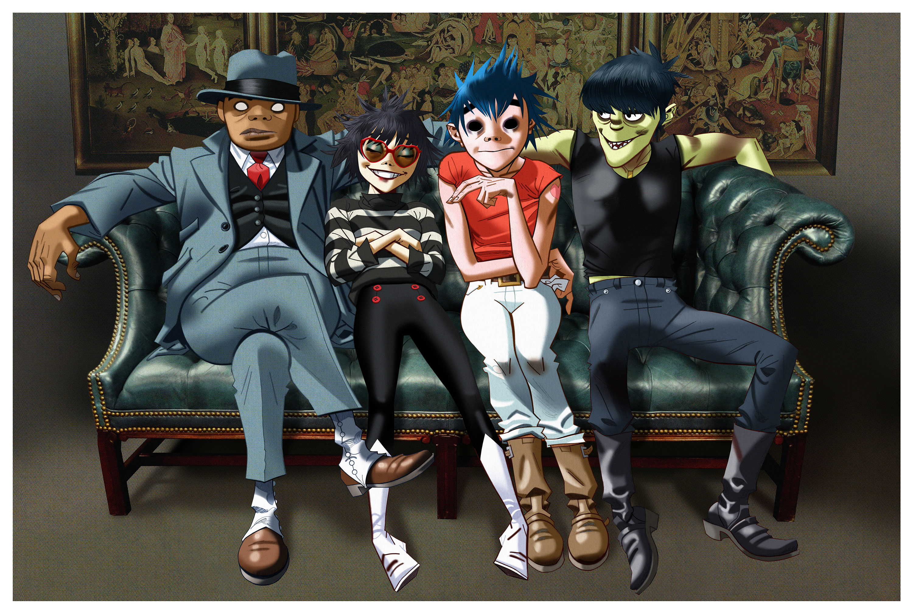 Gorillaz make live comeback in London with guest-packed Printworks show