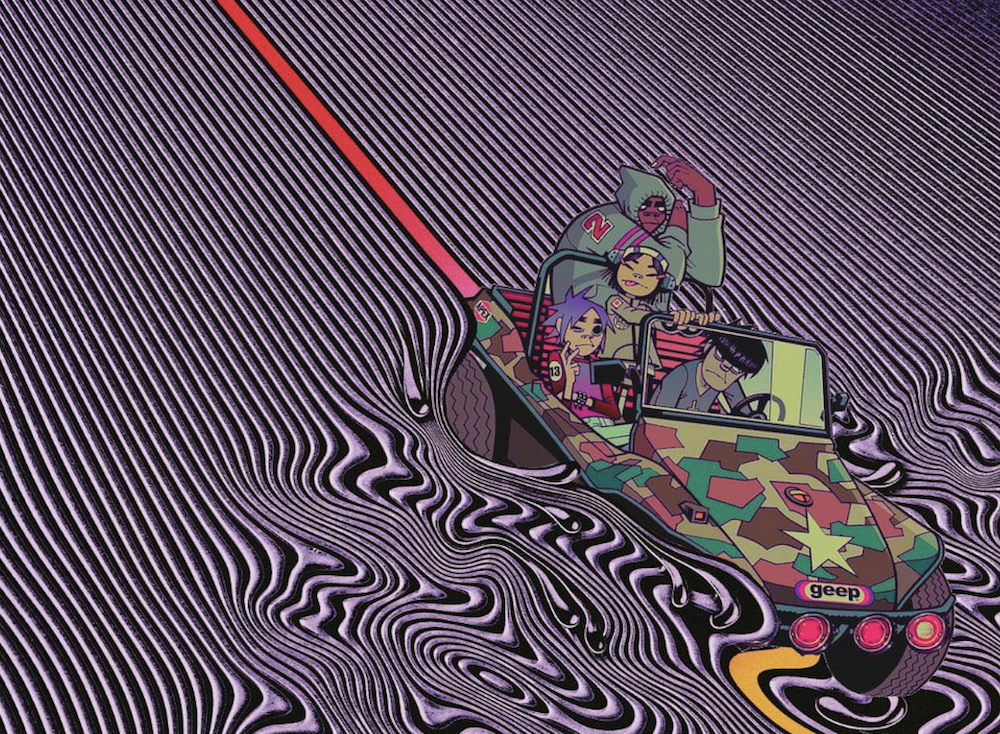 Are Gorillaz teaming up with Tame Impala?