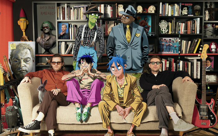 Gorillaz share full details of two live stream performances