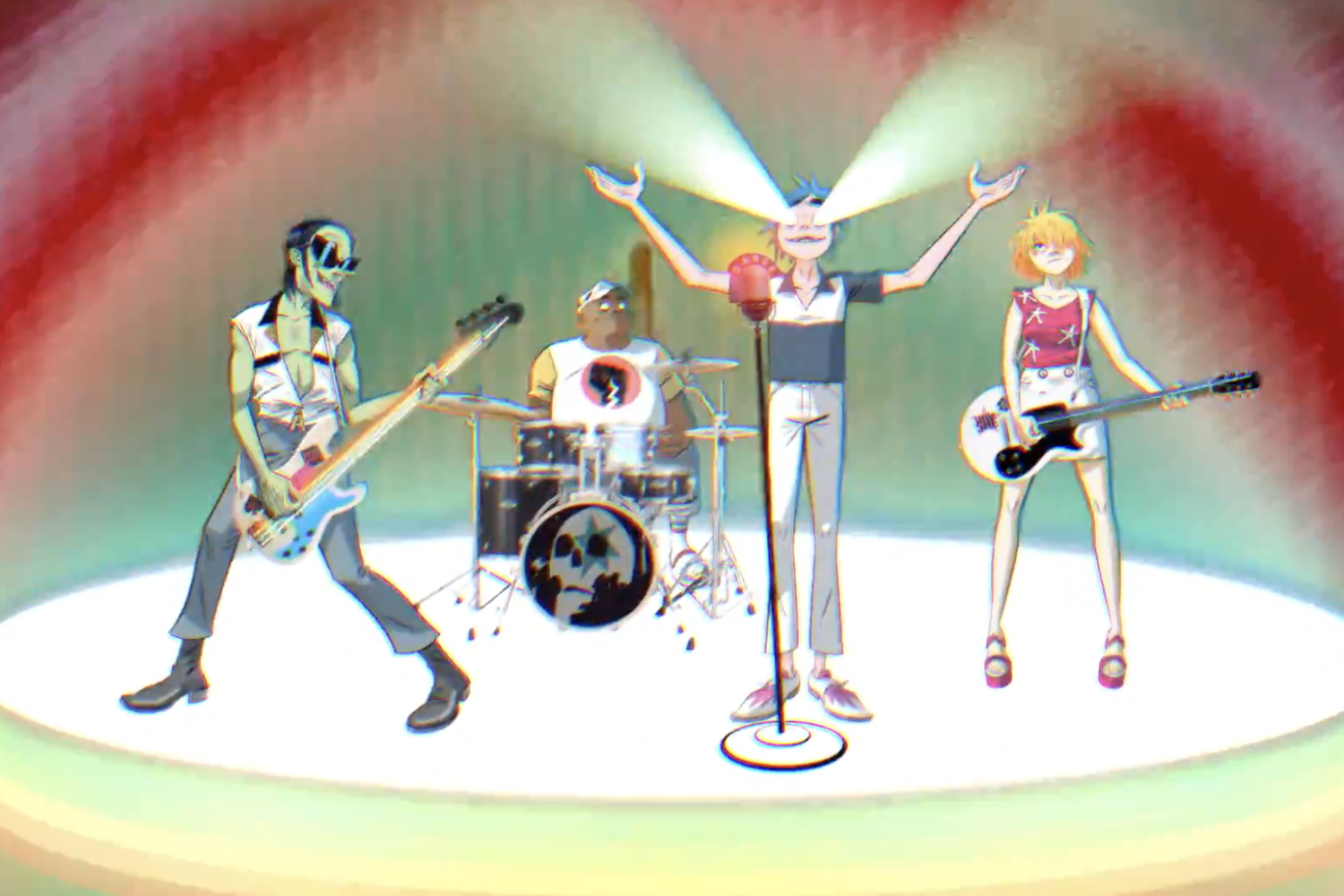 Gorillaz share video for 'Tranz'