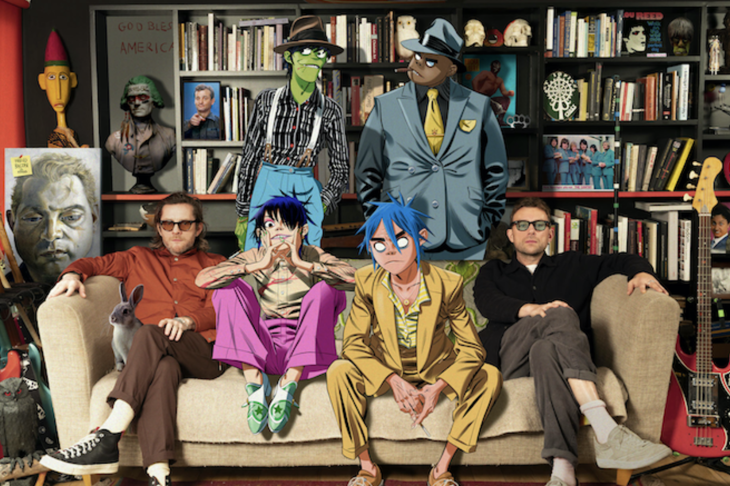 Gorillaz release third Song Machine episode 'Aries'