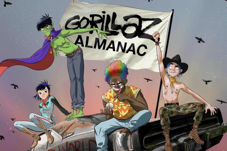 Gorillaz announce ALMANAC