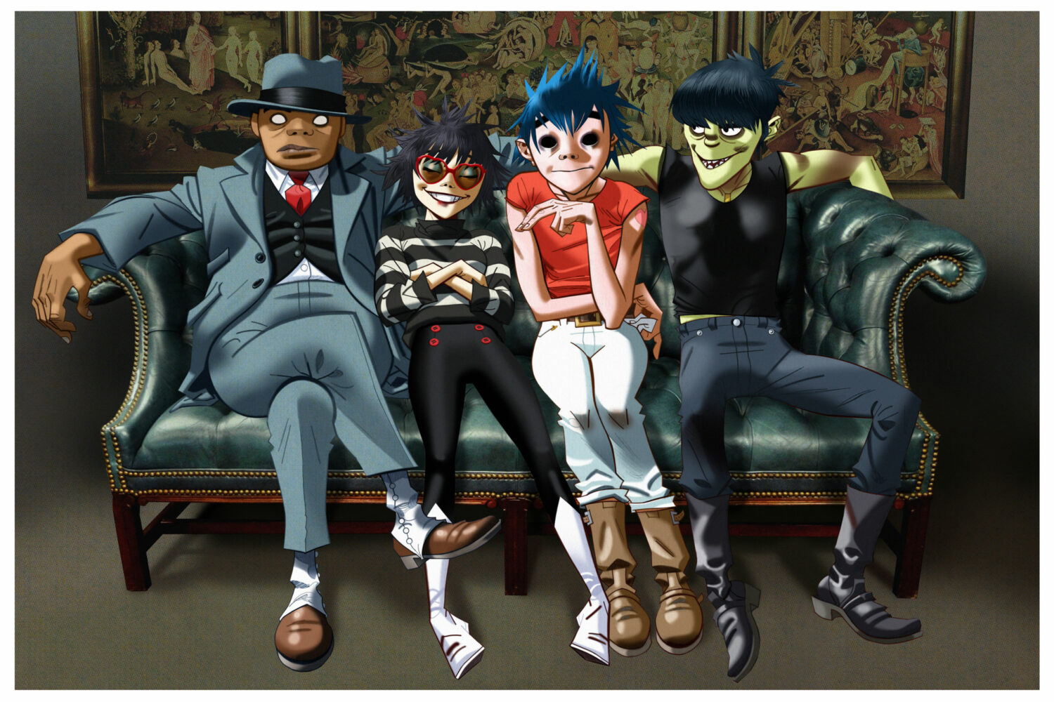 Our verdict on the four new Gorillaz songs - 'Saturnz Barz', 'Ascension', 'We Got The Power', 'Andromeda'