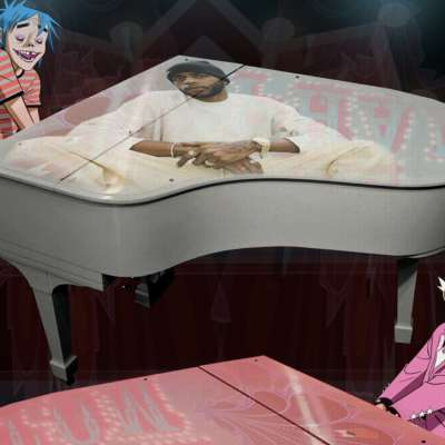Gorillaz link up with Elton John and 6LACK for 'The Pink Phantom'