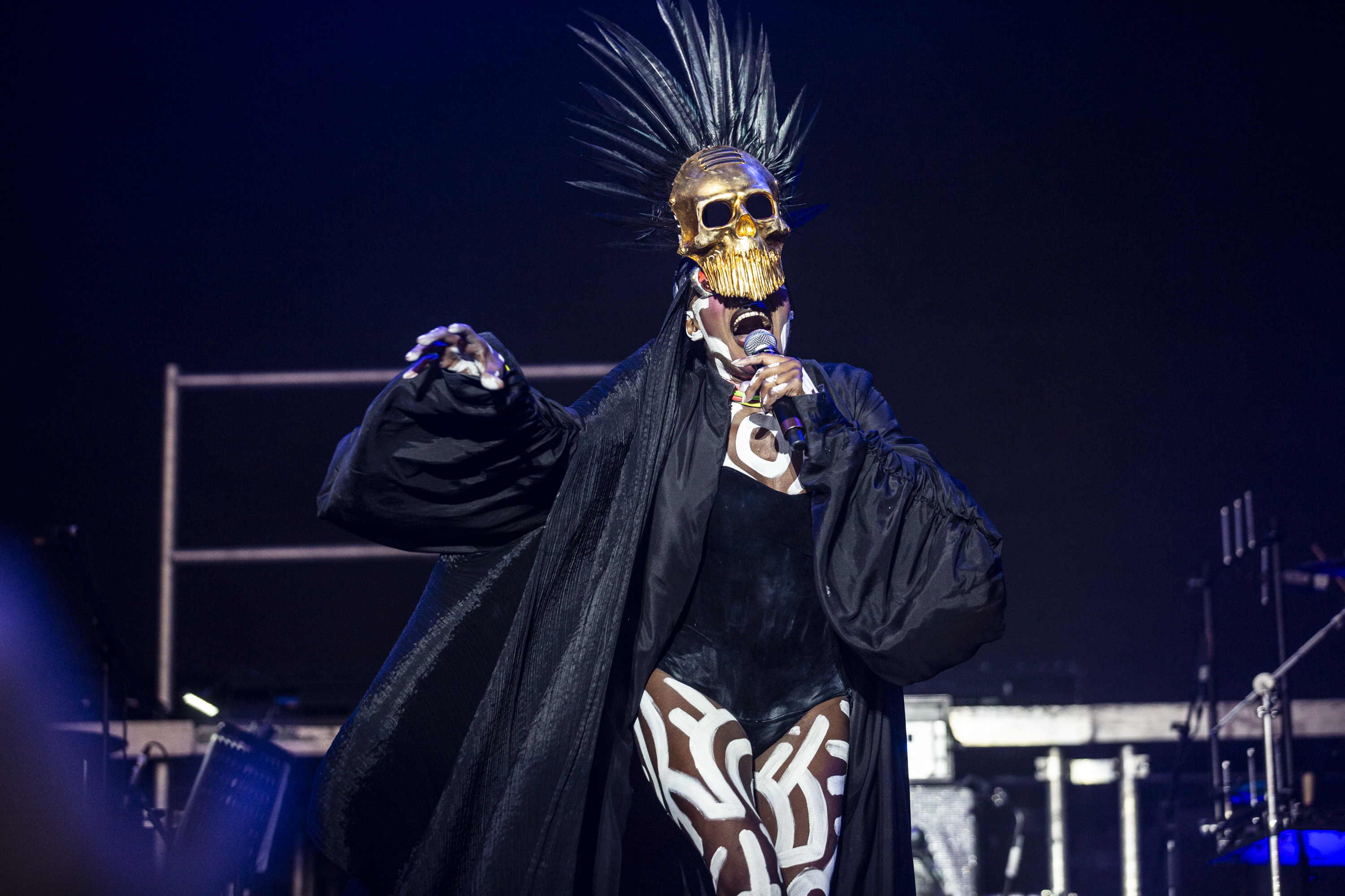 ​Grace Jones, Shame, Confidence Man & more bring brilliance in different forms to Saturday of Bestival 2018​