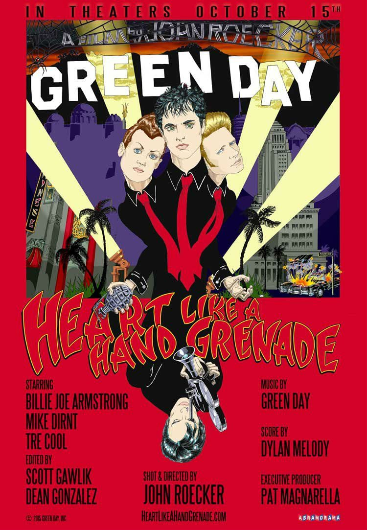 Green Day announce new documentary 'Heart Like A Hand Grenade'