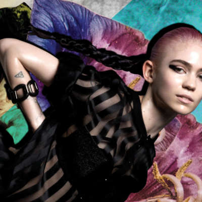 Grimes shares clips of new music