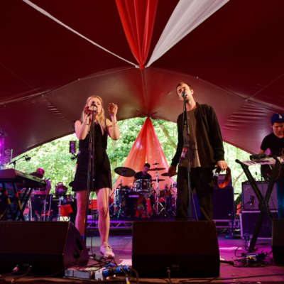 Haelos open Latitude 2015 Day Two with a softly building woodland set
