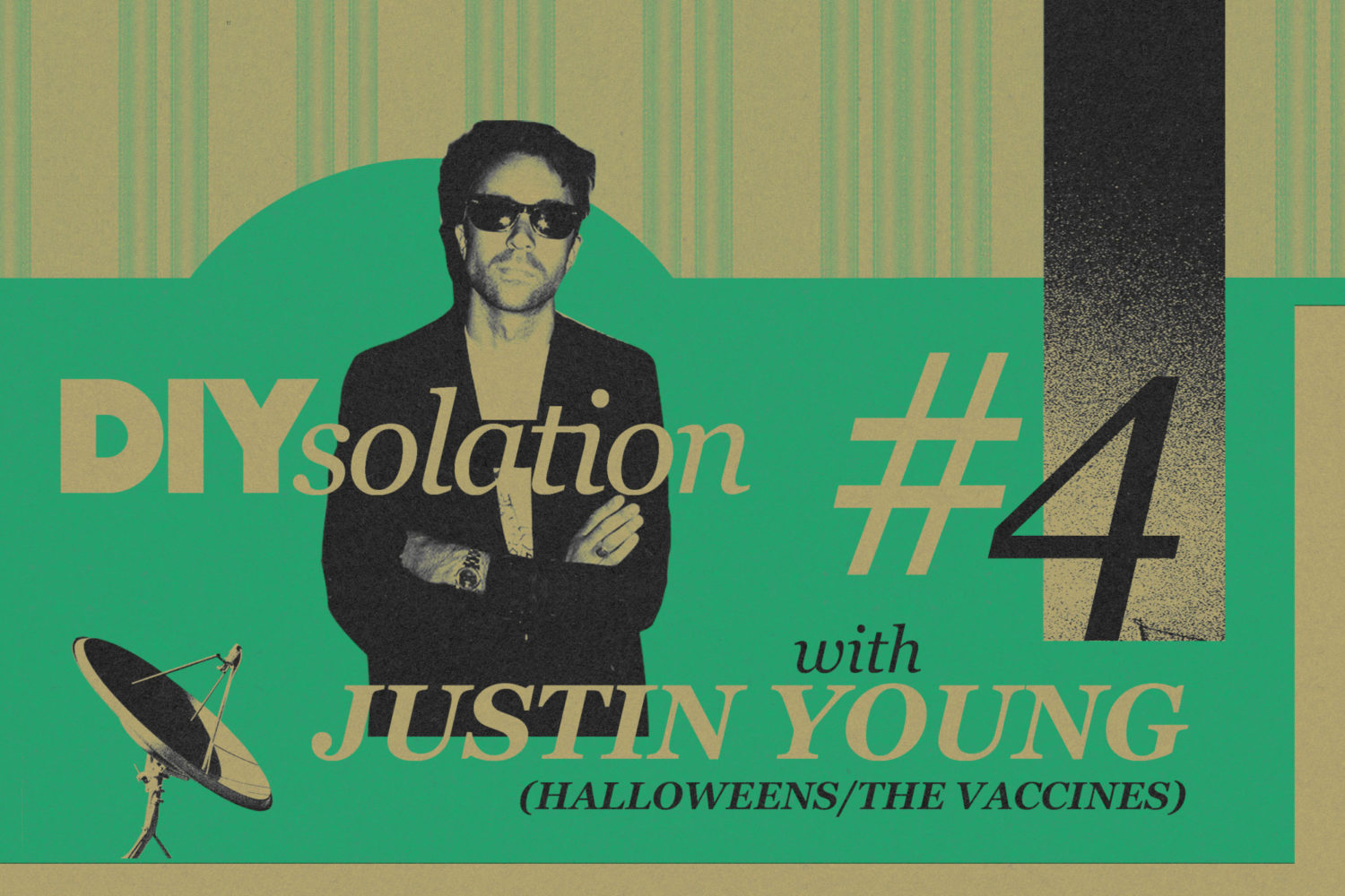 DIYsolation: #4 with Justin Young (Halloweens/The Vaccines)
