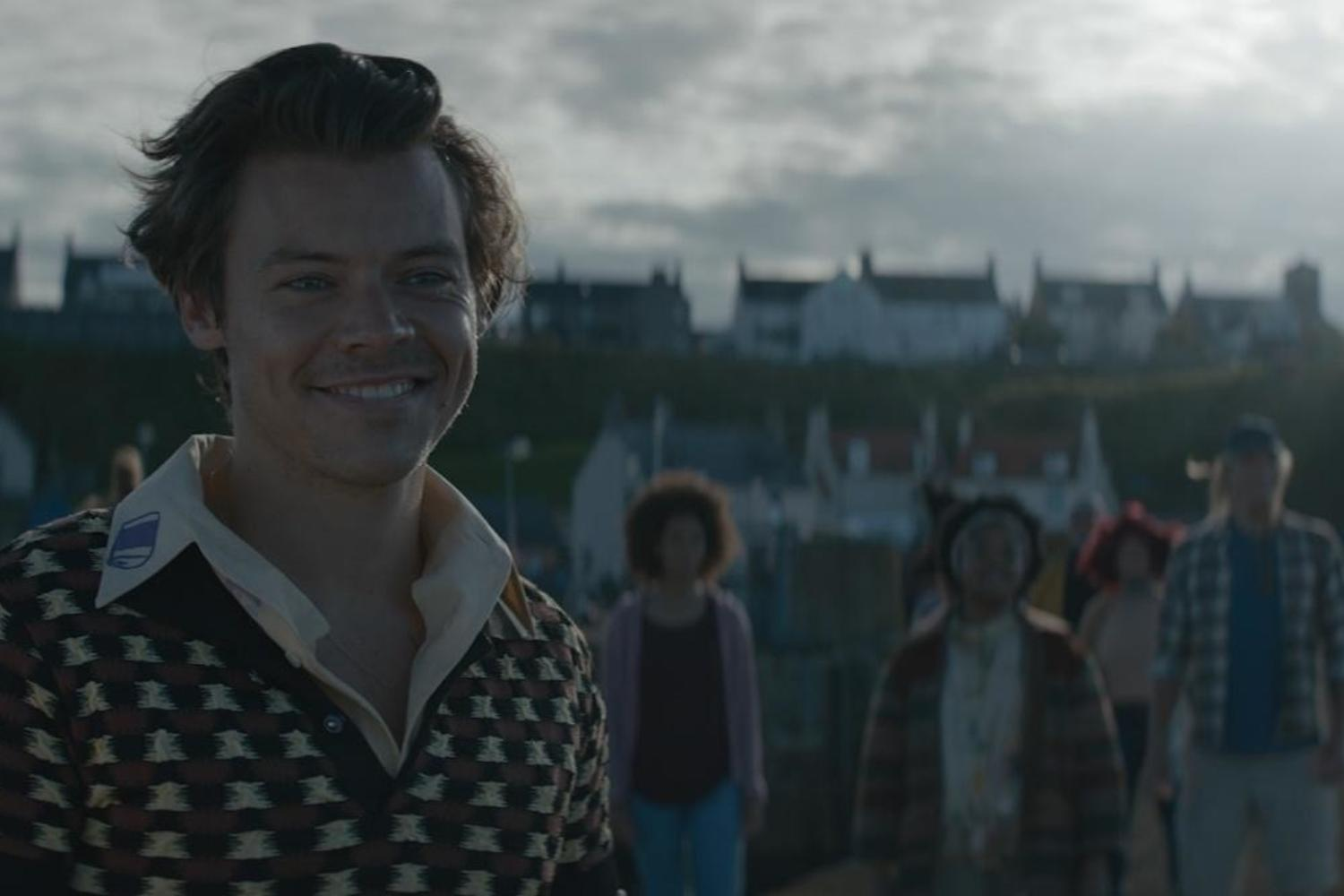Harry Styles befriends a fish in new 'Adore You' video