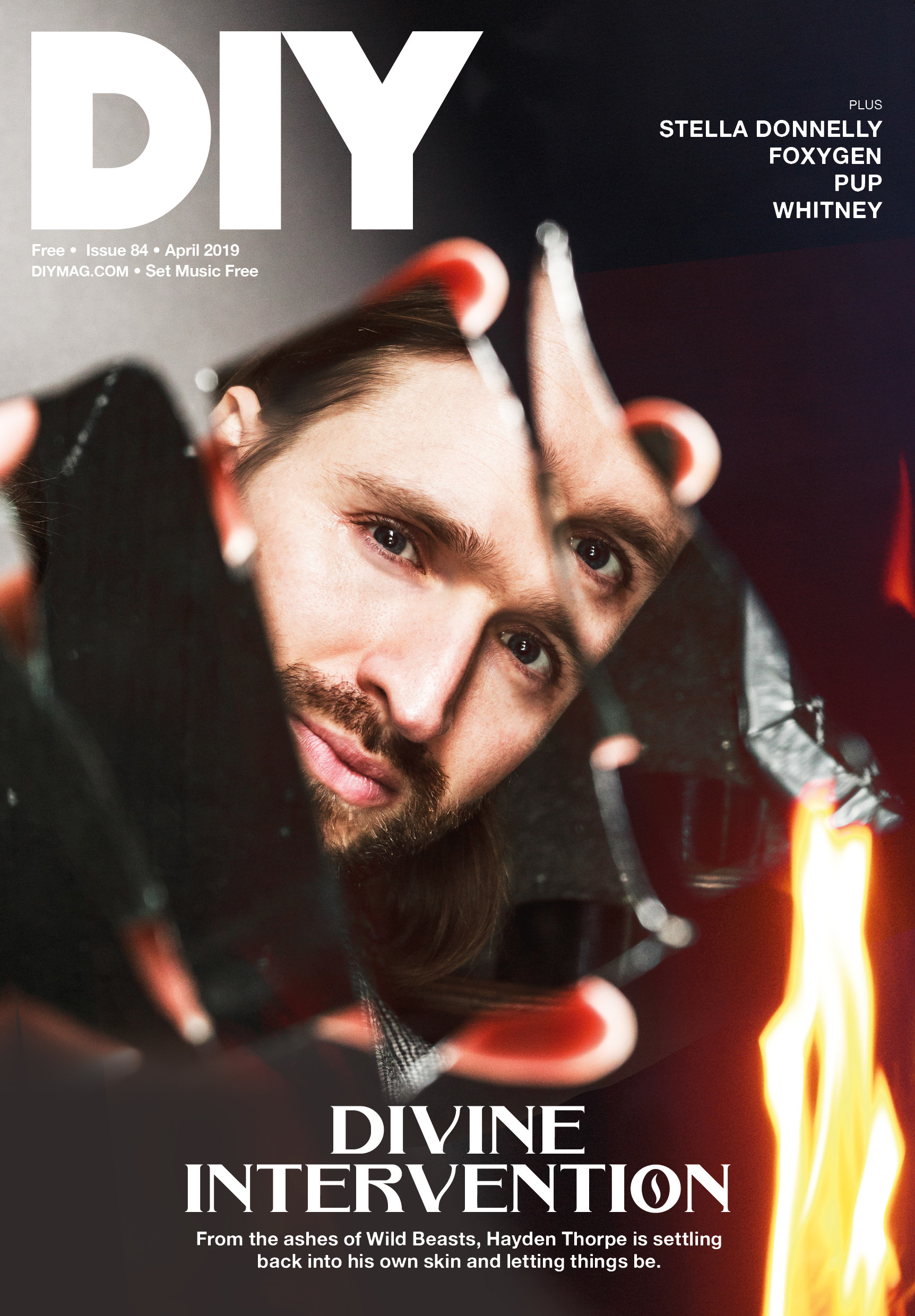 Hayden Thorpe fronts the April issue of DIY