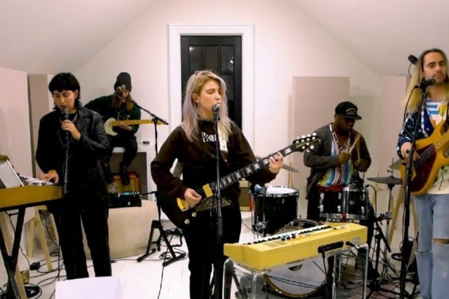Hayley Williams performs 'Petals For Armor' tracks live