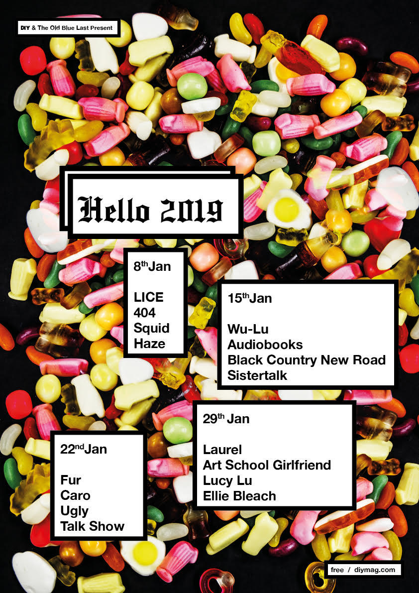 LICE, FUR, Wu-Lu, Laurel and more are heading to The Old Blue Last for DIY's Hello 2019!
