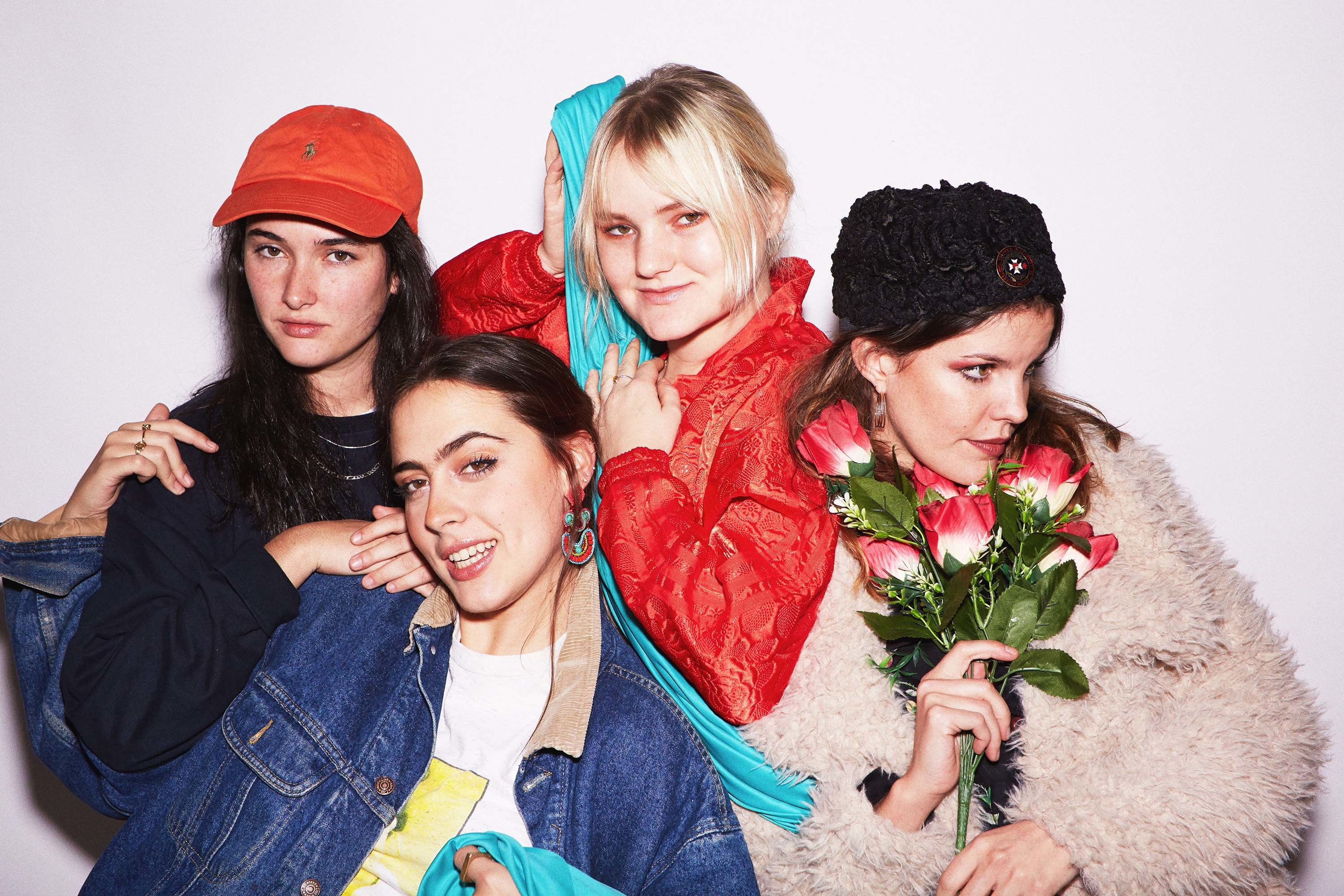 Hinds take to the ski slopes in their video for 'The Club'