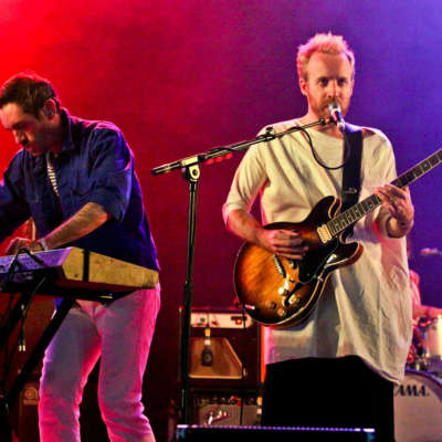 See Hot Chip's take on 'Dancing in the Dark' from T in the Park