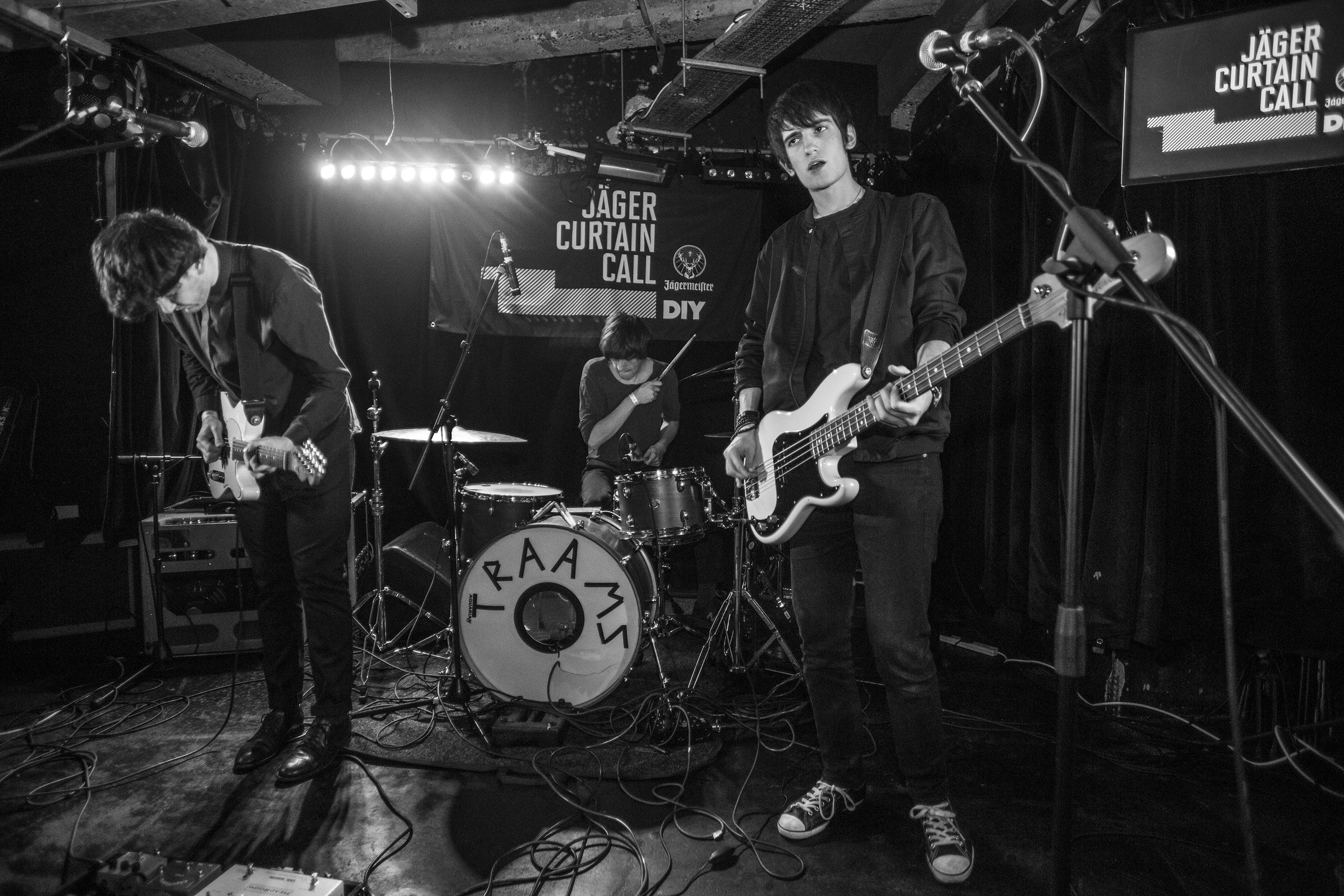 TRAAMS, Husky Loops and YOWL bring grit and guts to Jäger Curtain Call