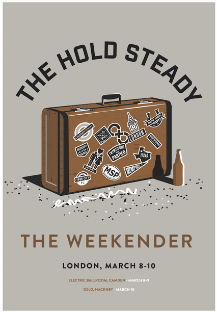 The Hold Steady to return to London for 'The Weekender'