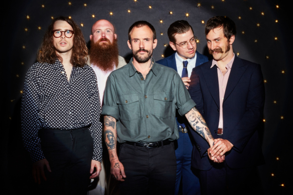 IDLES are the cover stars of DIY's 100th issue!