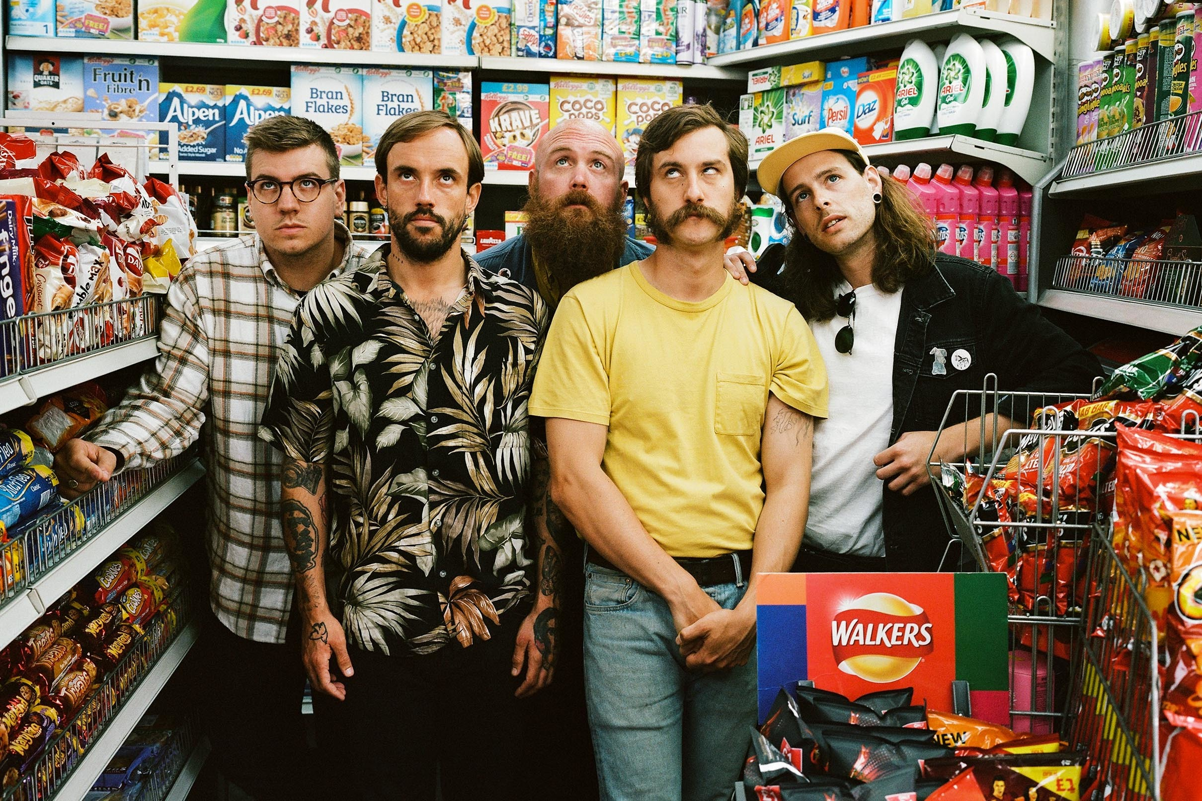 IDLES and Heavy Lungs announce new split 7""