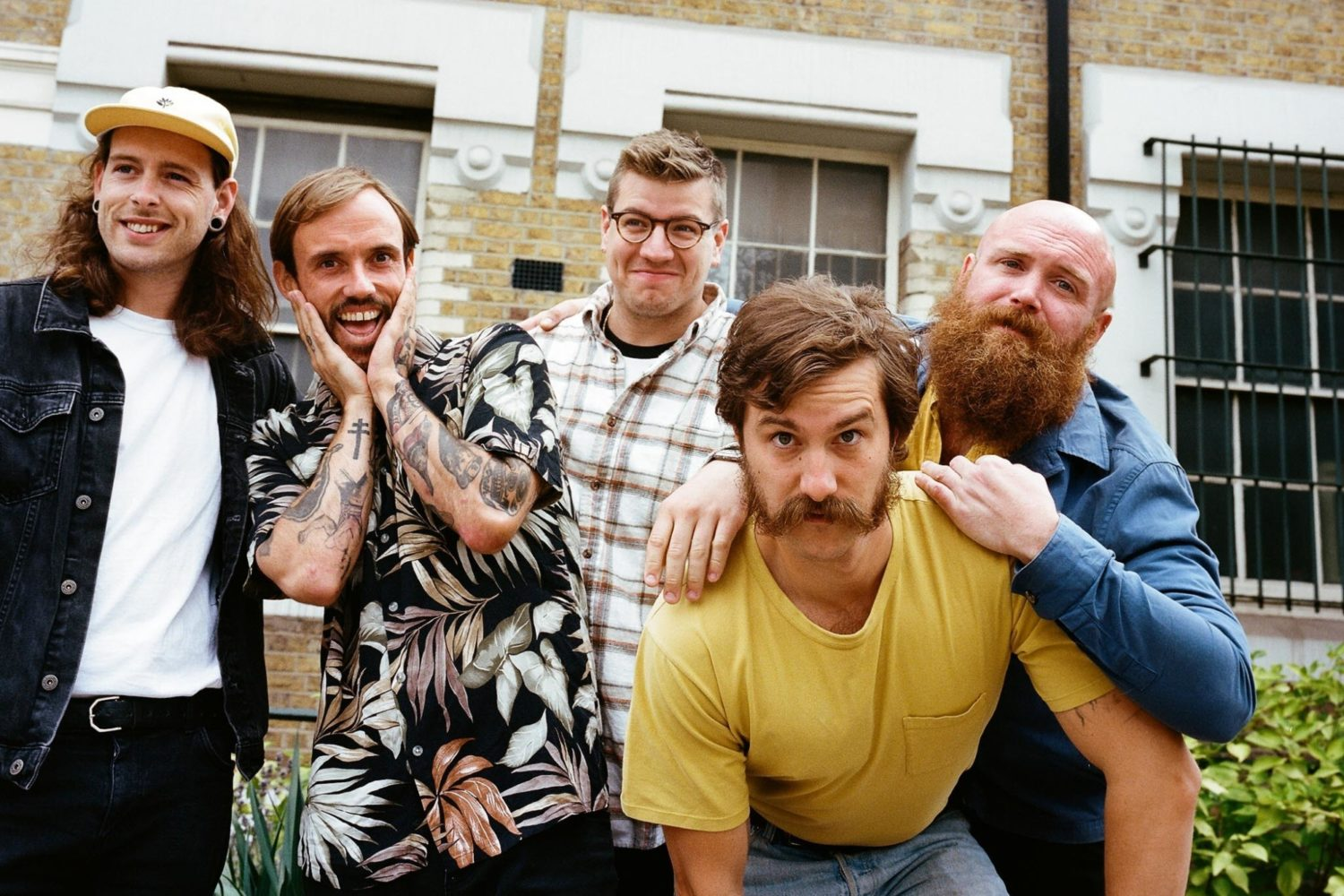 IDLES share new track 'Mercedes Marxist'