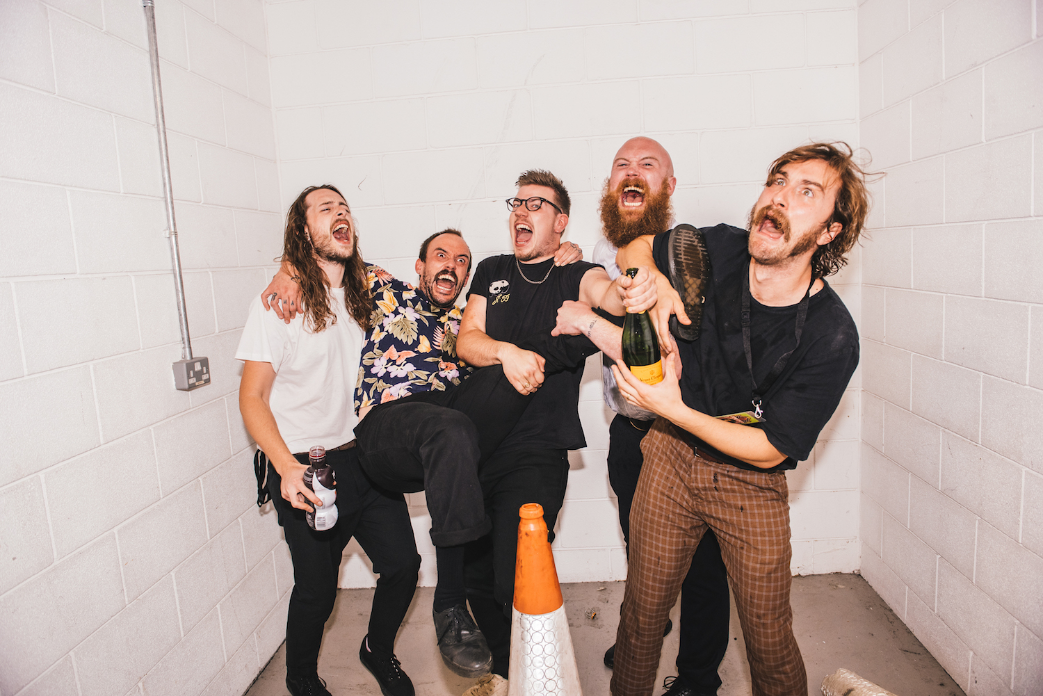 "IDLES open up about forthcoming second album and its ""defiance of love"""