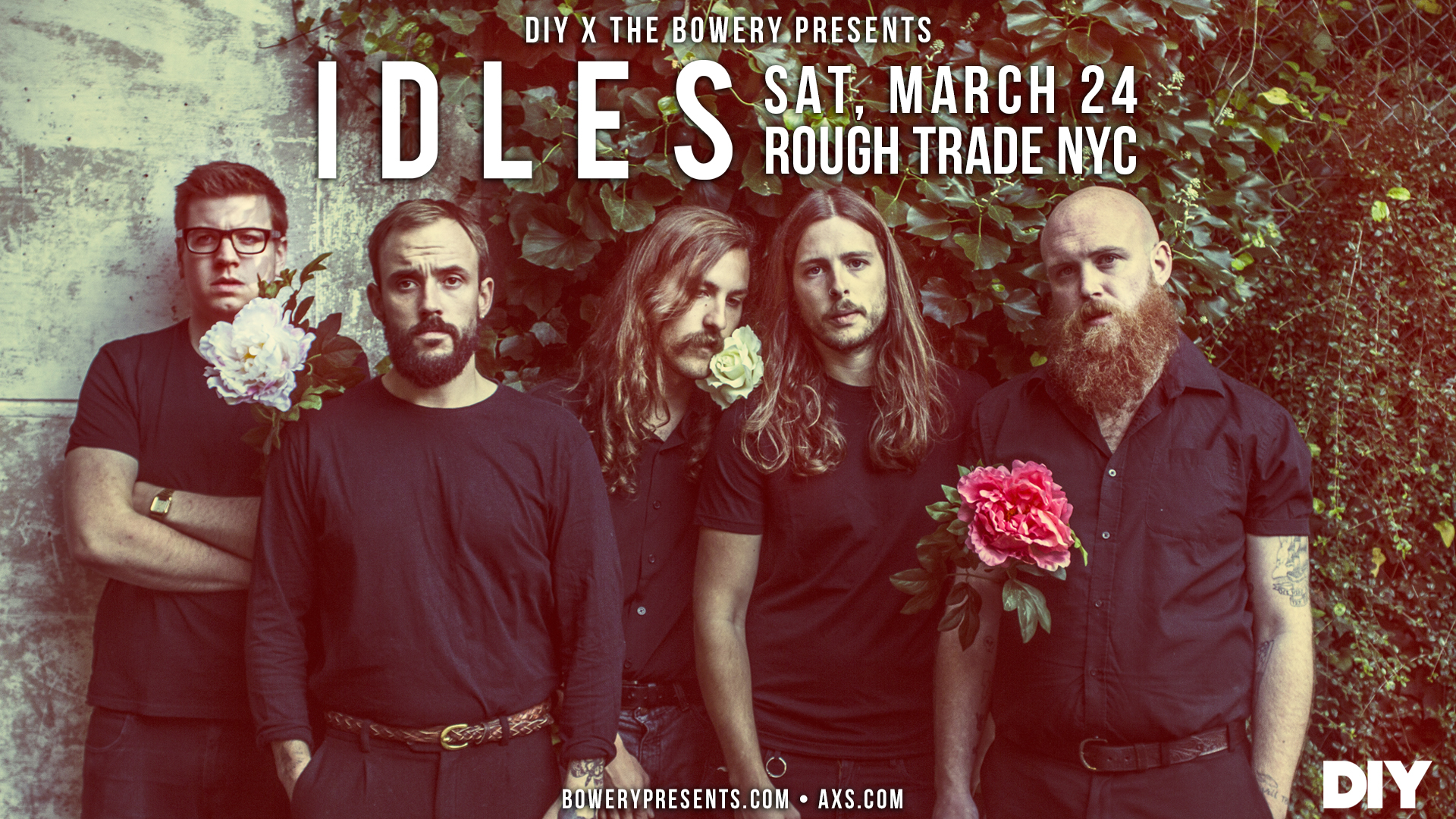 IDLES are playing the second DIY Presents show in New York next month!