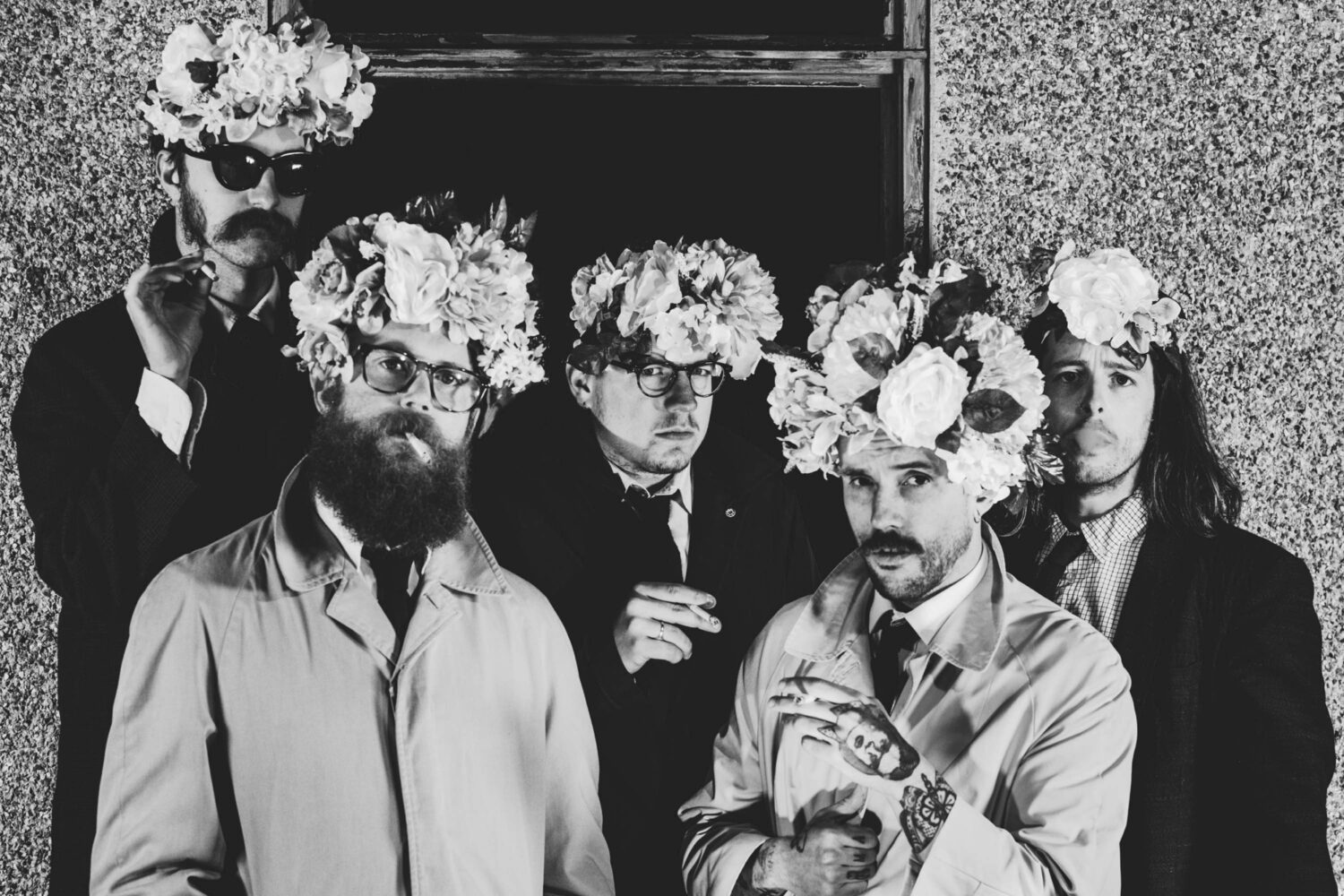 IDLES share blistering rally on toxic masculinity with new song 'Samaritans'