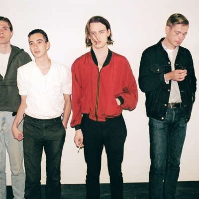Watch Iceage perform new song live