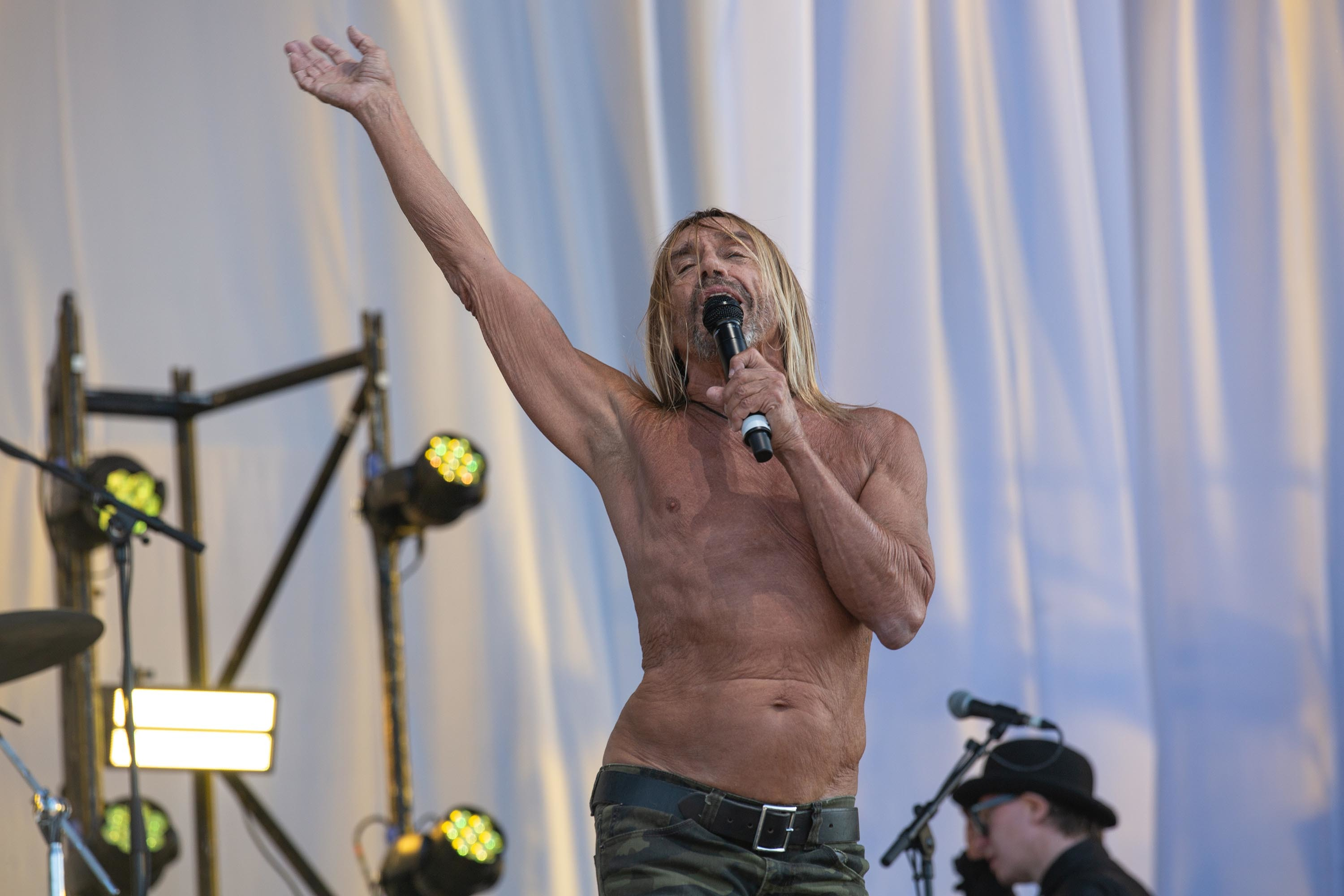 Iggy Pop has a brand new animated video for 1982 classic 'Run Like A Villain'