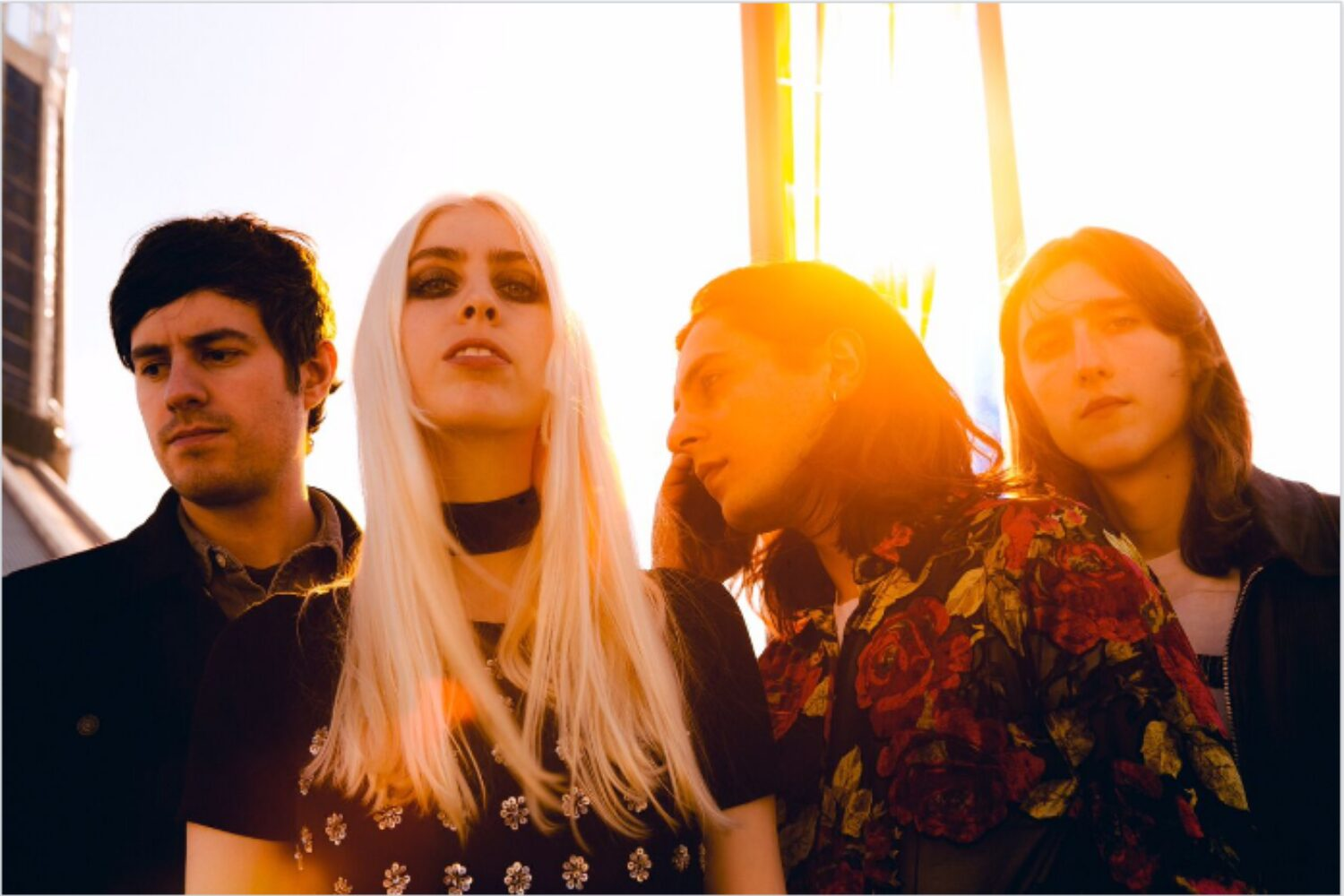 INHEAVEN set the 'World On Fire' with another taster of their debut album