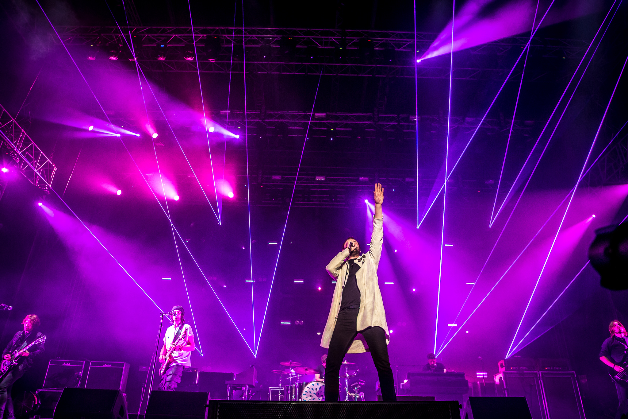 Arcade Fire and Kasabian reign supreme while Kings of Leon phone it in at INMusic Festival