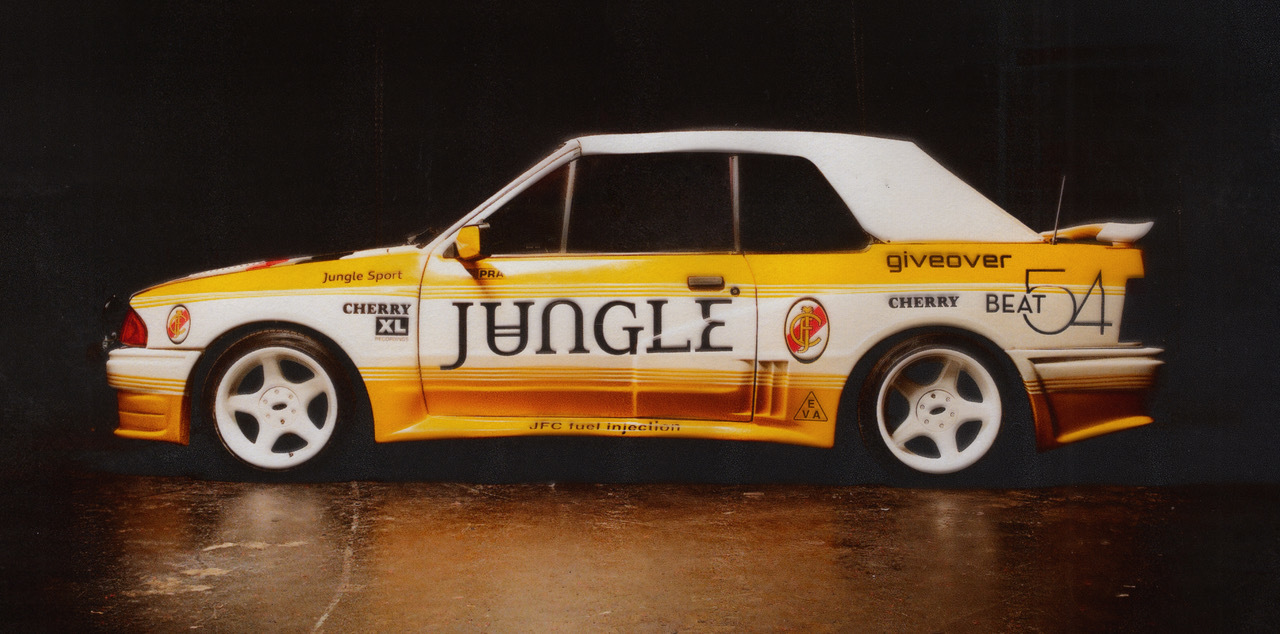 Jungle are auctioning off their iconic car