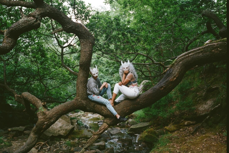 Alt-pop duo Jadu Heart mine the dark side of love on glitchy, atmospheric 'Purity'