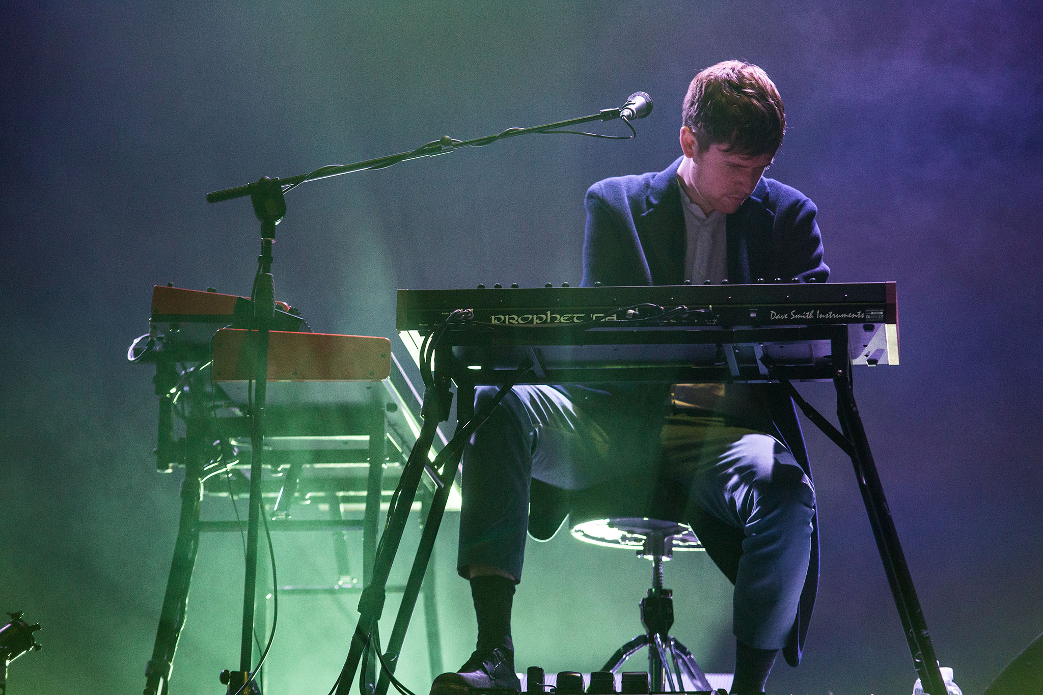 Watch James Blake perform with Bon Iver & Vince Staples