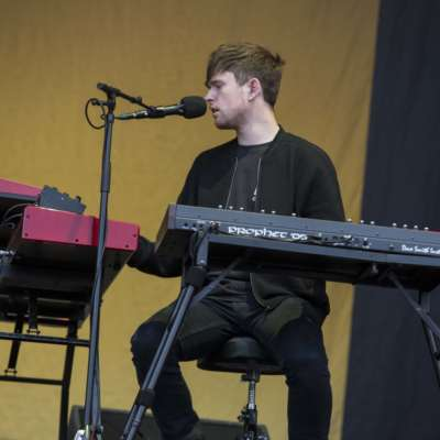 James Blake is supporting Radiohead!