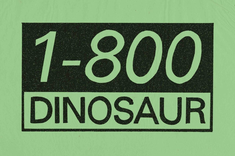 The evolution of James Blake's 1-800 Dinosaur