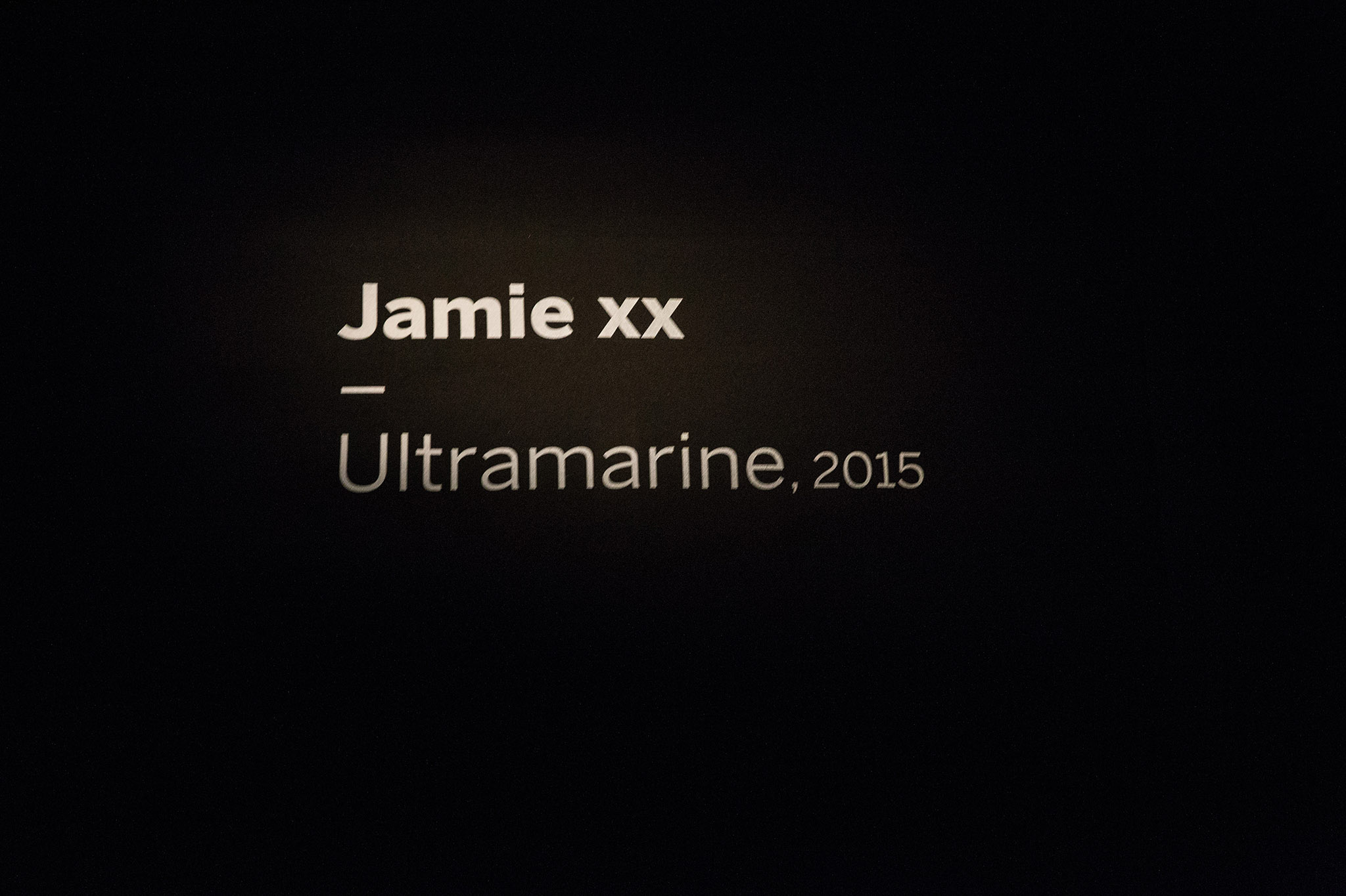 Jamie xx creates new 'Ultramarine' installation for Soundscapes exhibition