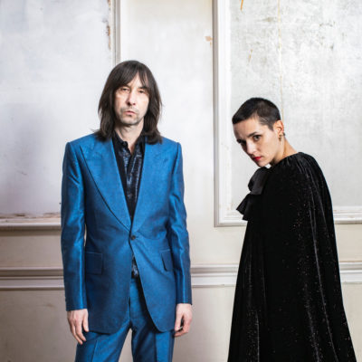 Bobby Gillespie and Jehnny Beth release new track 'Chase It Down'