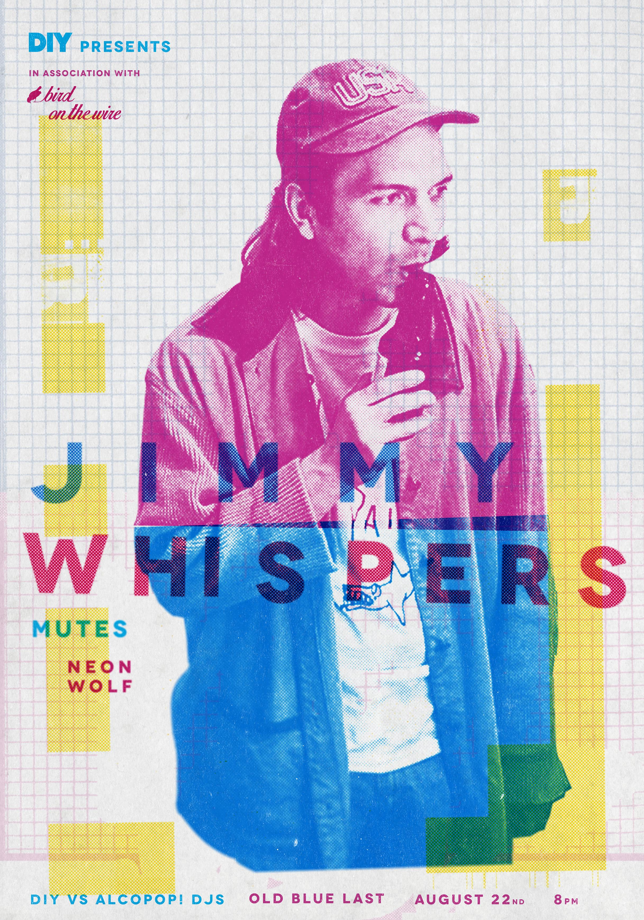 Giggling fits and iPhone recordings - the mad world of Jimmy Whispers