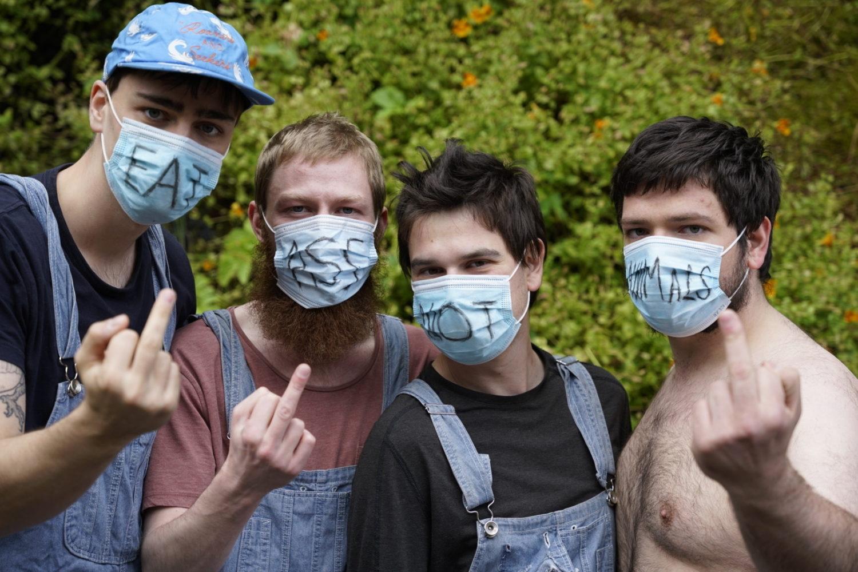 Joe & The Shitboys confirm debut album 'The Reson For Hardcore Vibes'