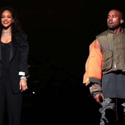 Kanye West surprises FYF Fest with an on-stage Rihanna collab