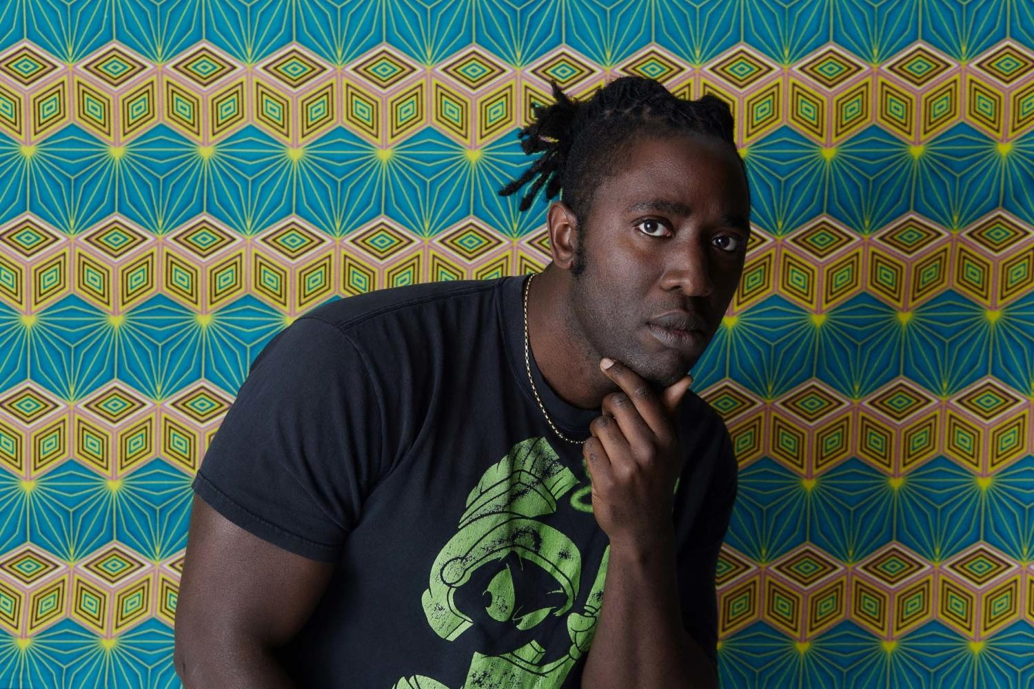 Kele Okereke unveils new glam-rock track 'BETWEEN ME AND MY MAKER'