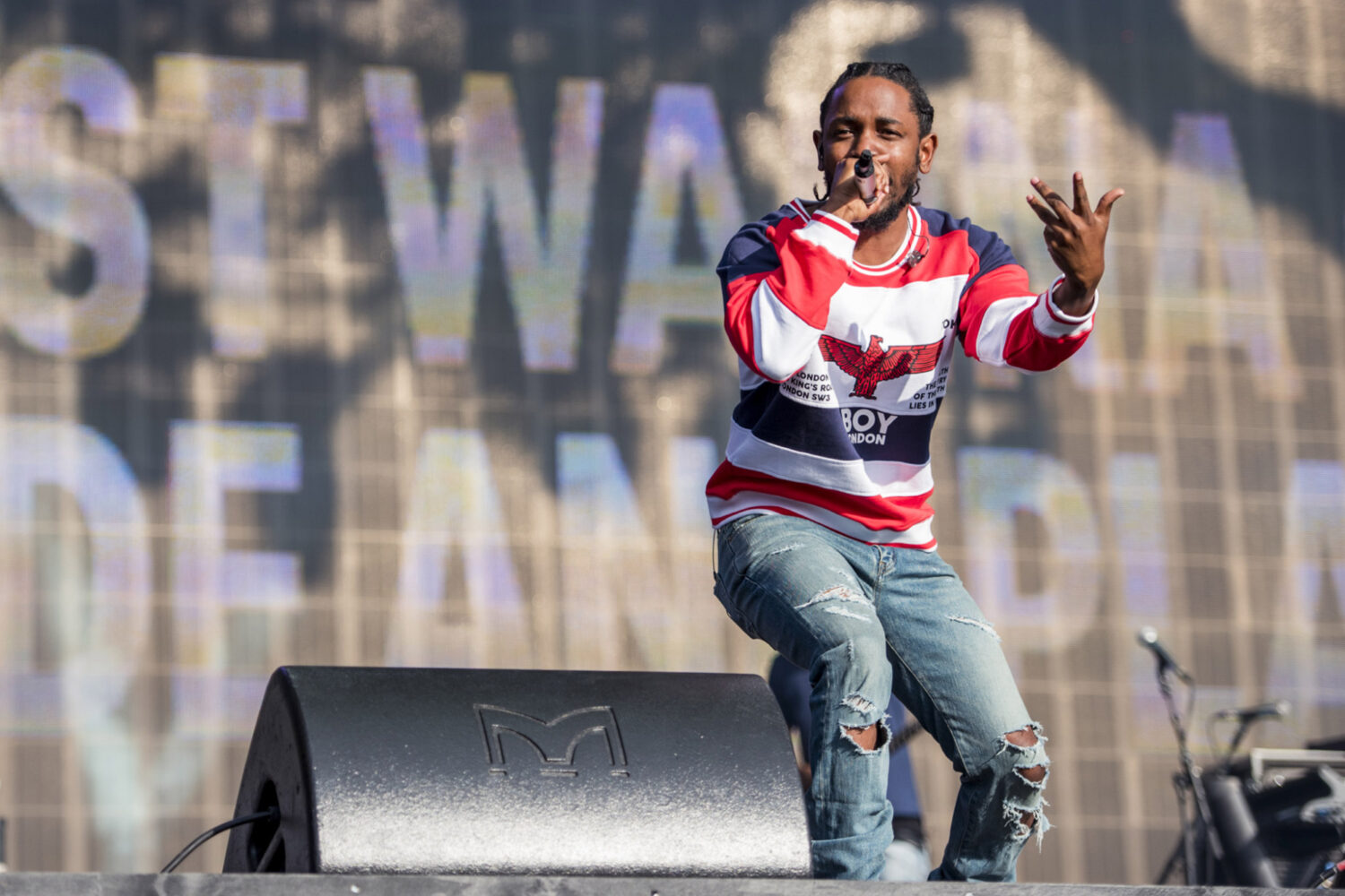 Kendrick Lamar and The Weeknd share 'Pray For Me' from Black Panther soundtrack