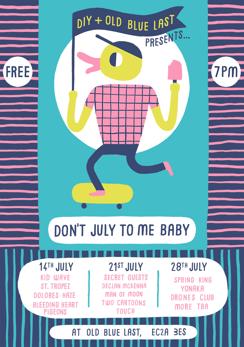 Kid Wave to headline DIY & The Old Blue Last's Don't July To Me Baby shows
